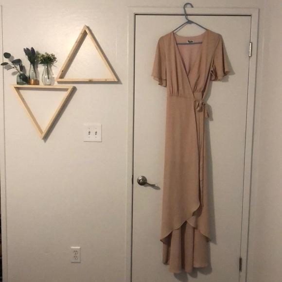 236243fe9d ... Sophia Wrap Dress - Dusty Blush. M 5b146a7e45c8b3b1dae61fac
